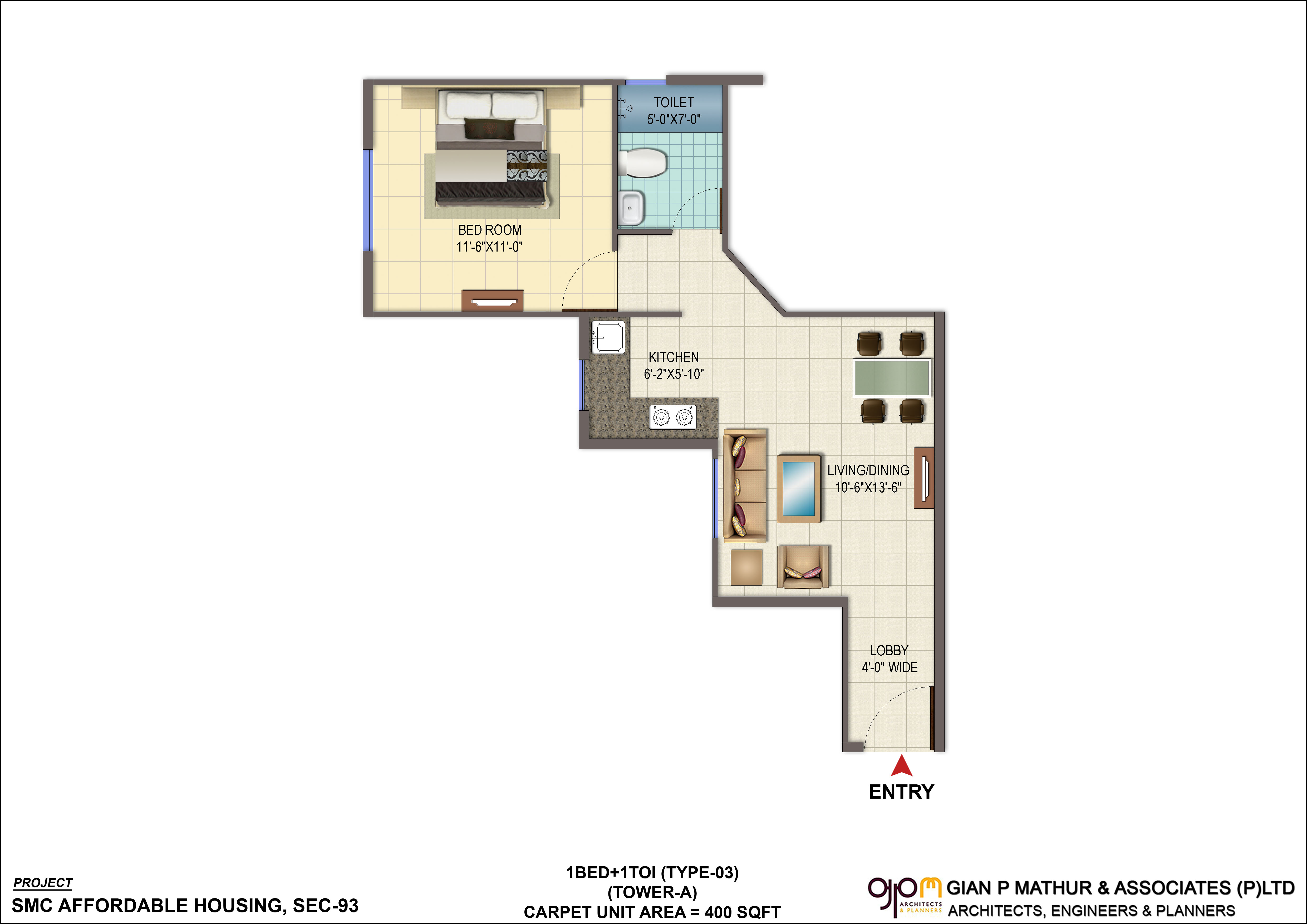 Signature Global Orchard Avenue Sector 93 Gurgaon on Small Orchard Layout Plan