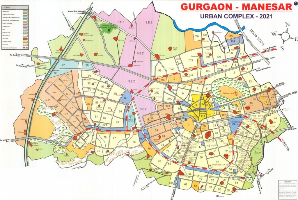 Gurgaon-Master-Plan-2021