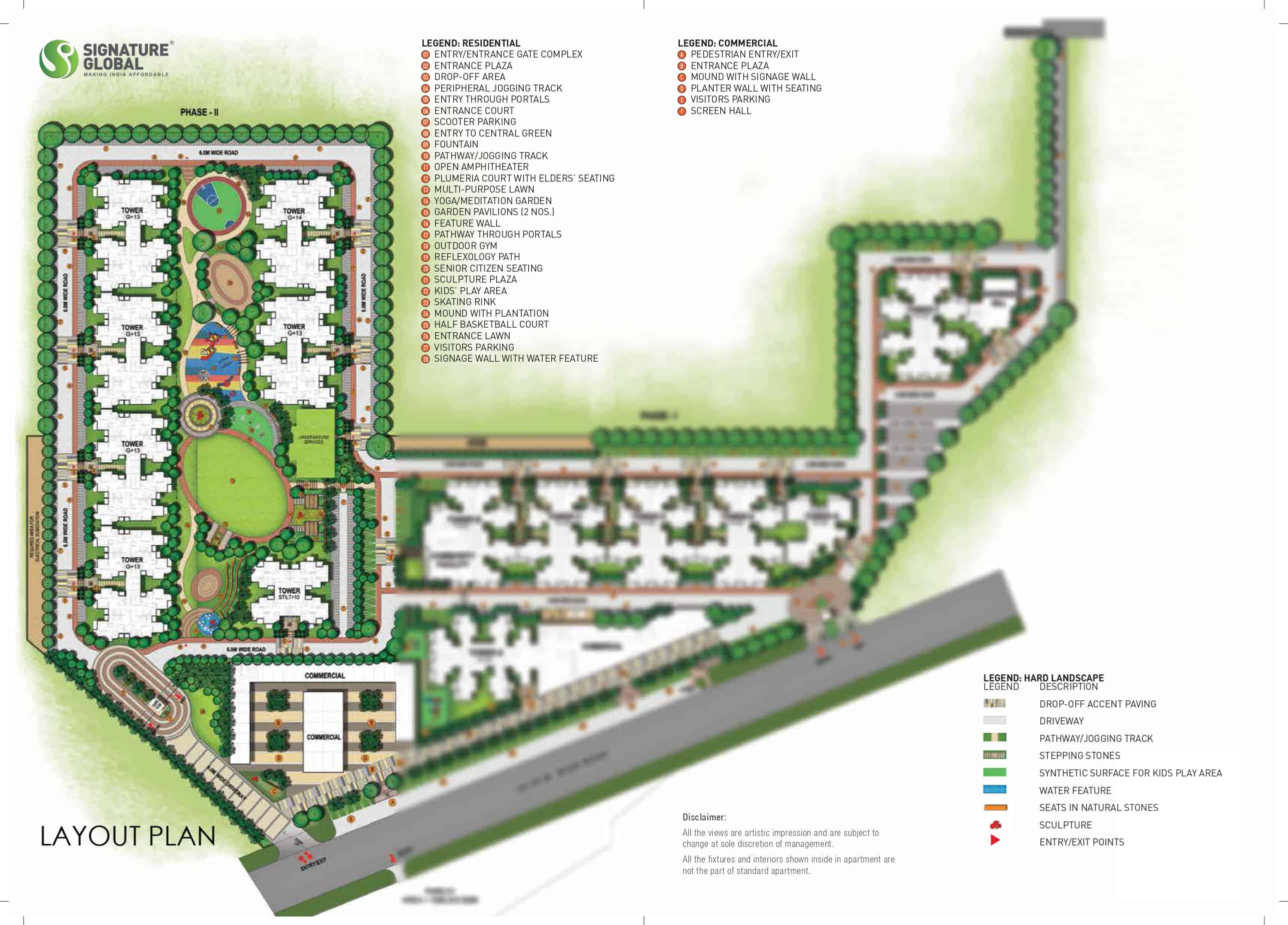 Siteplan Orchard avenue 2