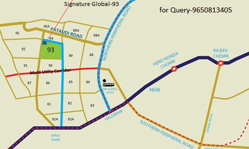 Location Map Signature Global Orchard Avenue