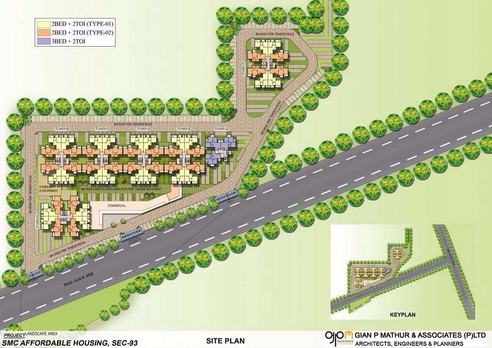 Signature Orchard Avenue Site Plan