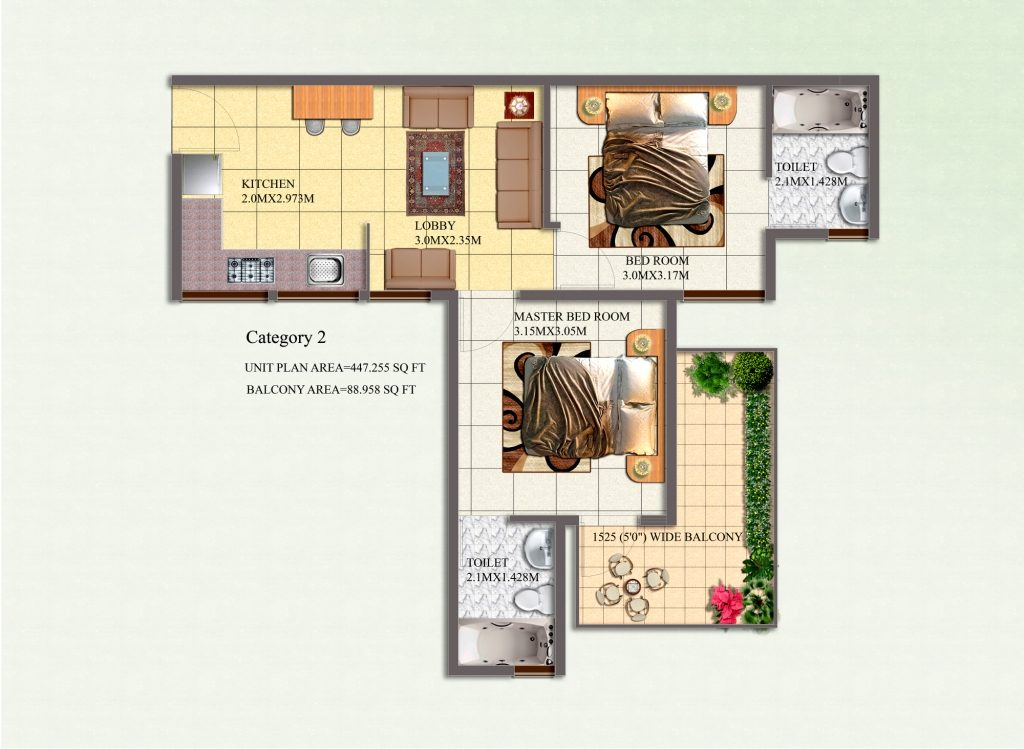 2bhk Category-2