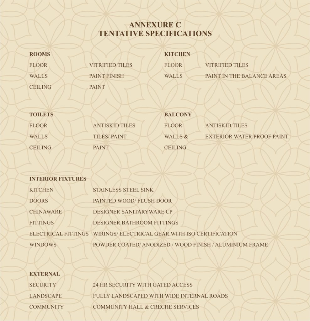 ROF Ananda Specifications
