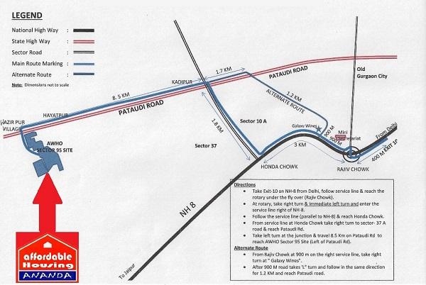 ROF Ananda Location Map