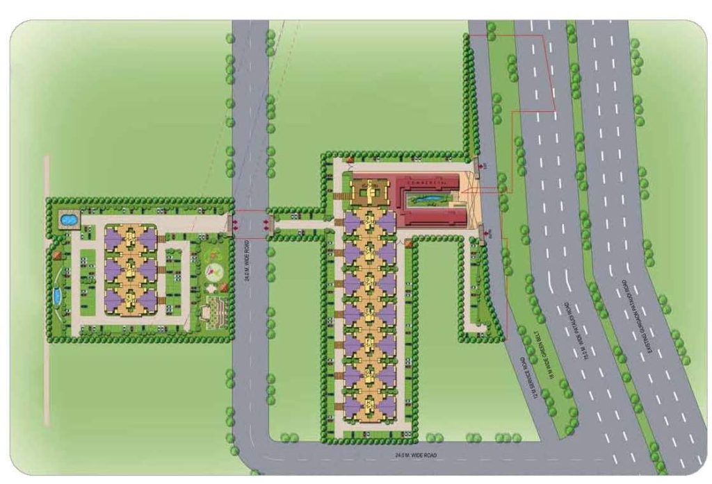 Signature the Roselia Site Plan