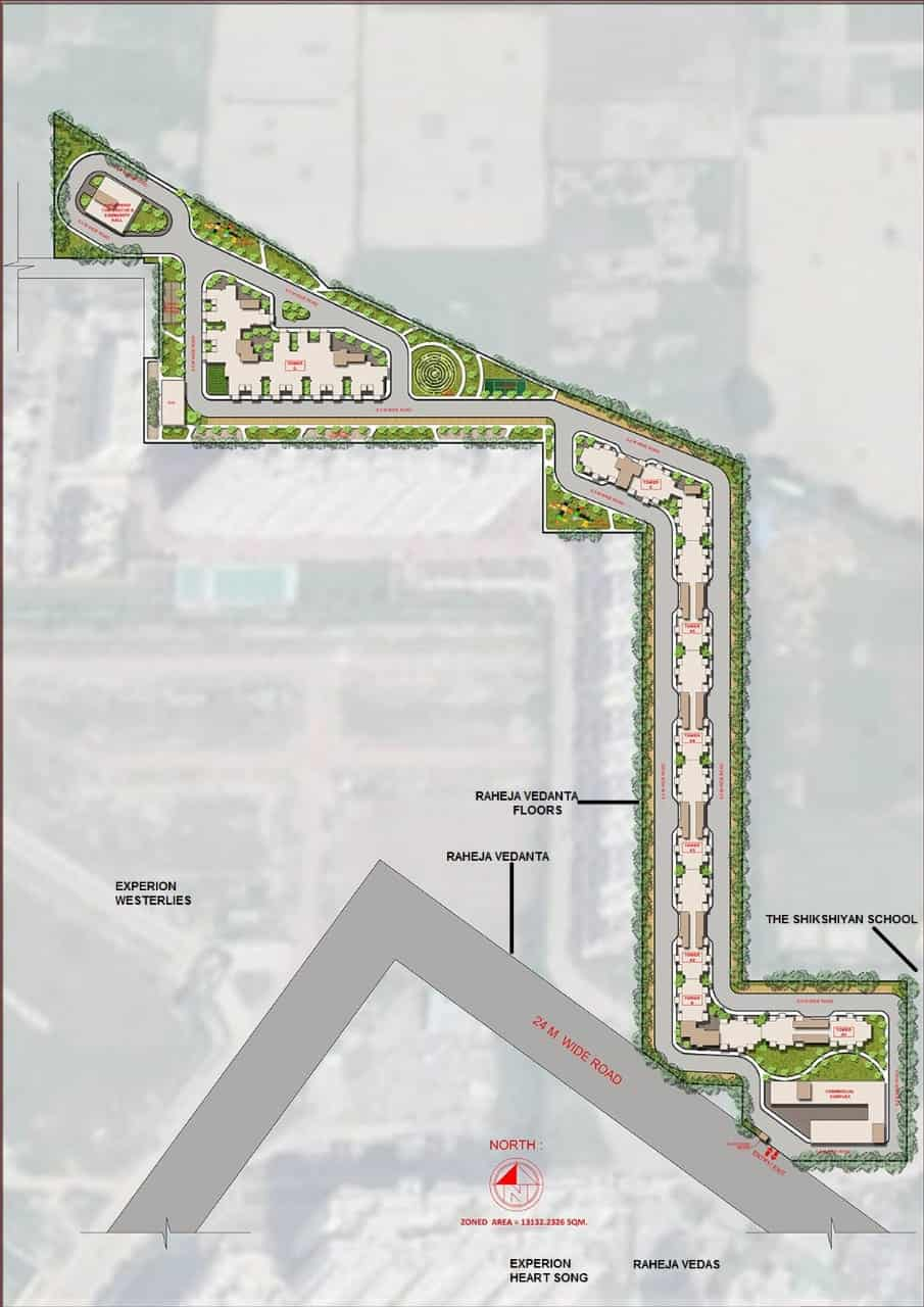 Agrante Kavyam Sector 108 Site Plan
