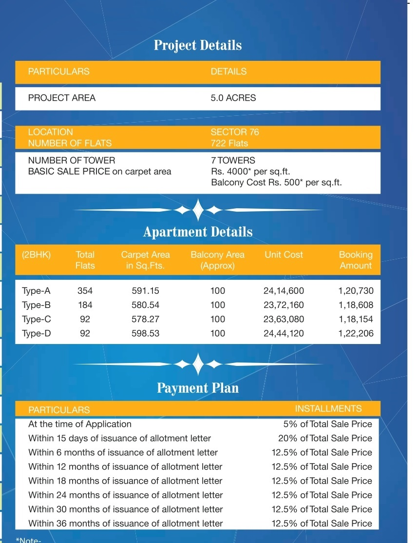 Pyramid Pride Price list & Payment Plans