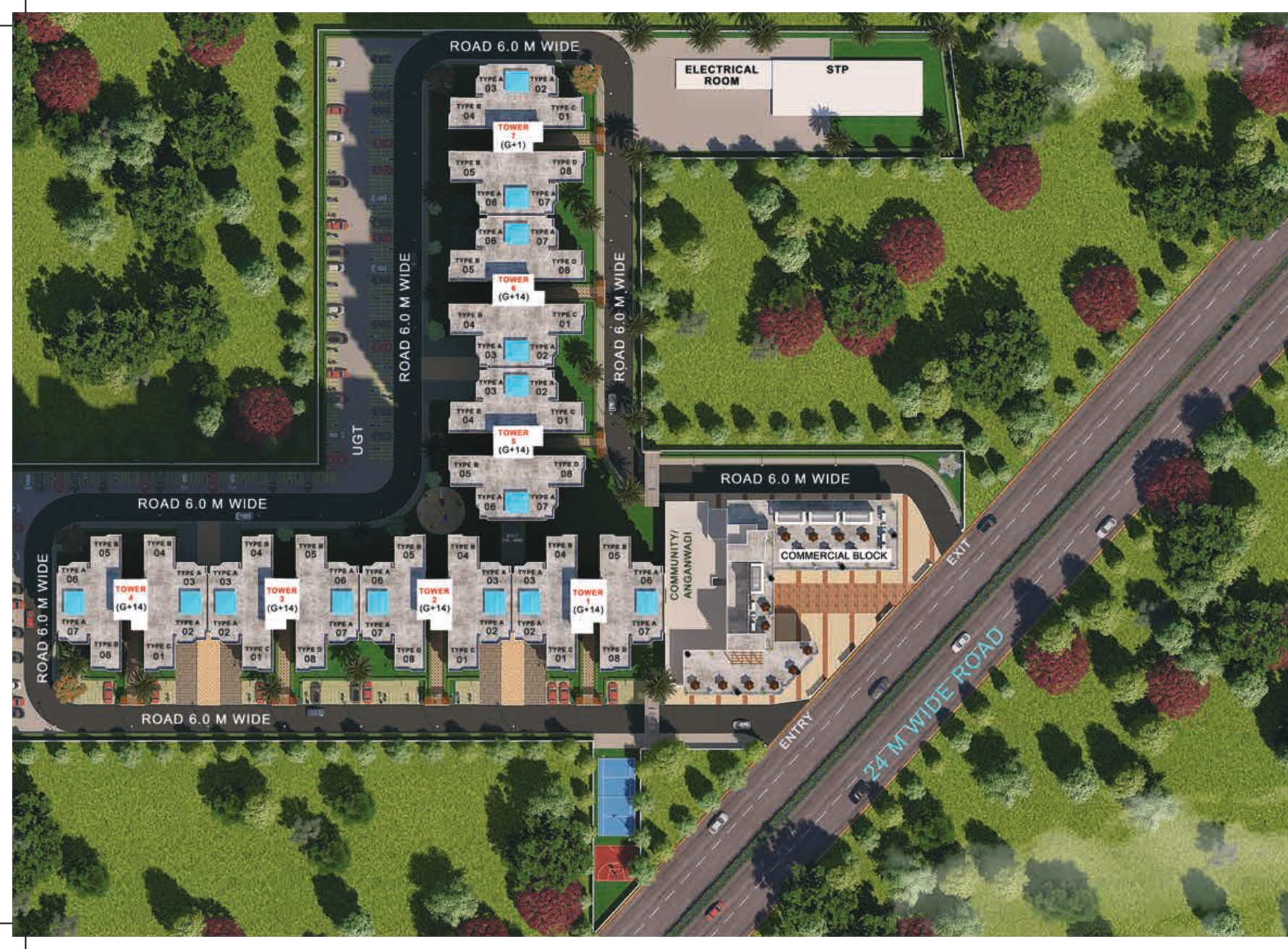 Site Layout Pyramid Pride Sector 76 Gurgaon