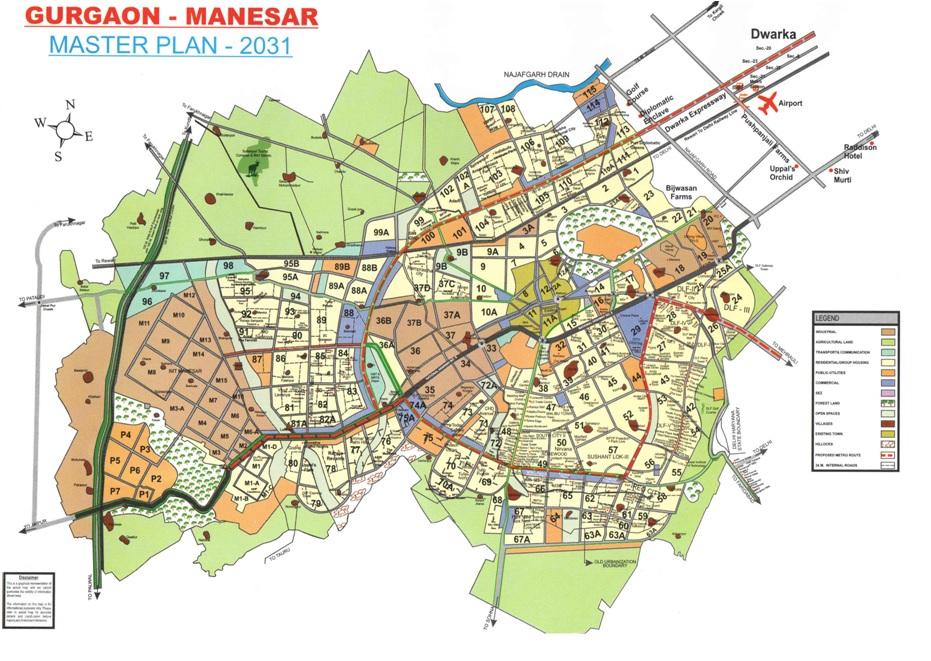 Gurgaon-Master-Plan-2031
