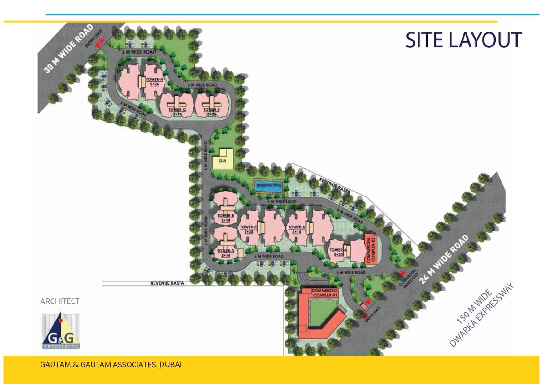 Mahira Homes Sector 103 Site Layout