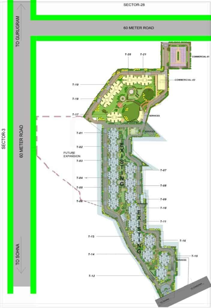 Site Layout GLS Arawali Homes 2
