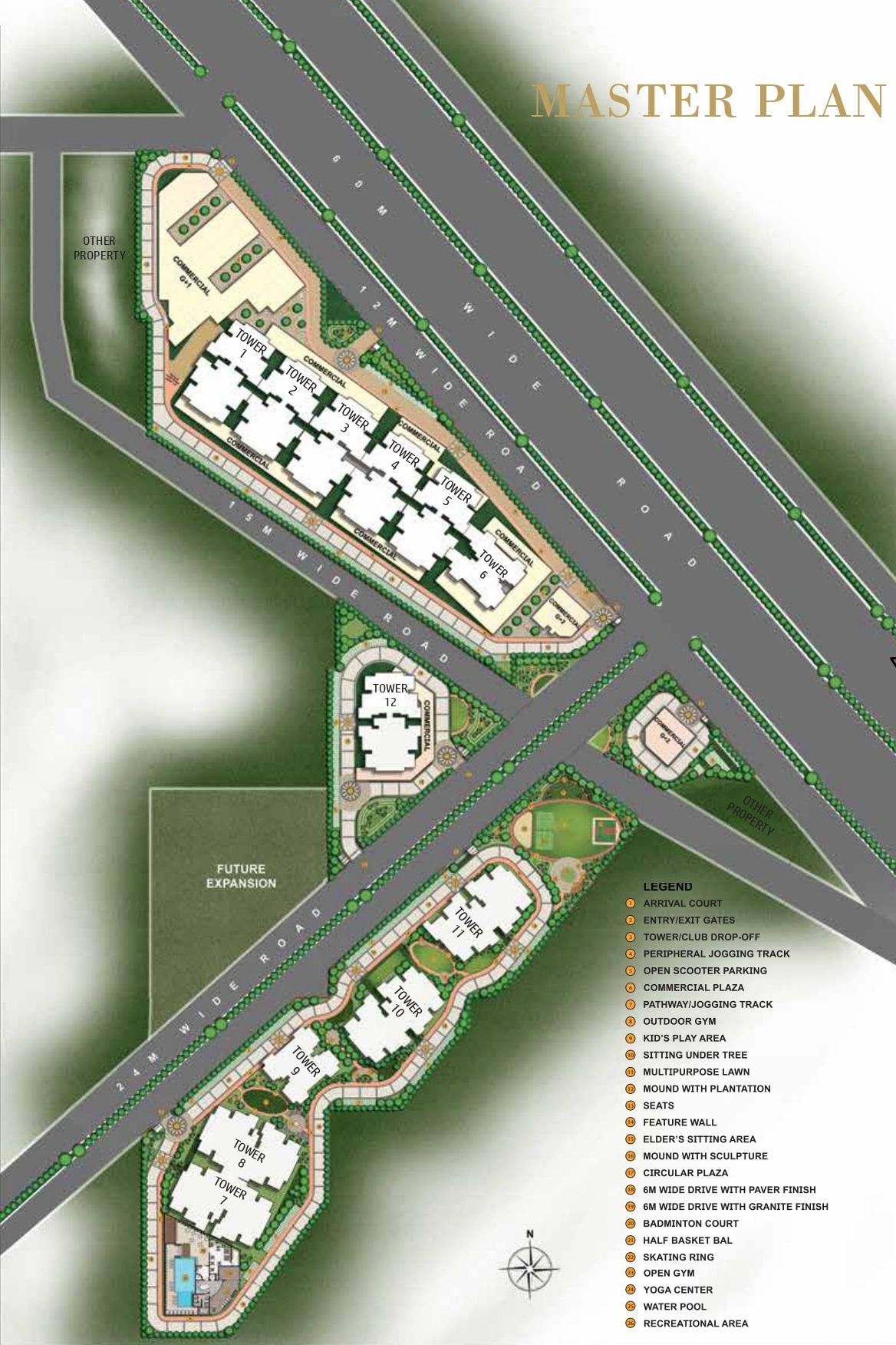 Master Plan MRG The Skyline Sector 106 Gurgaon