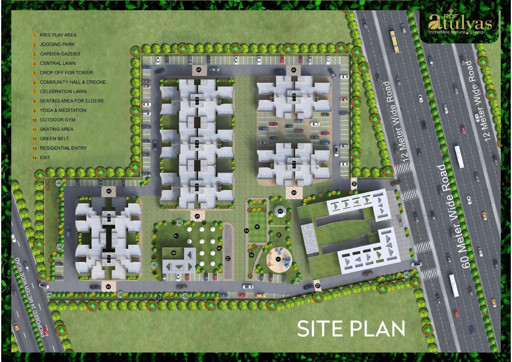ROF Atulyas Site Plan